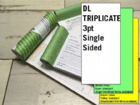 DL Triplicate - 3 part (3pt) Single Sided